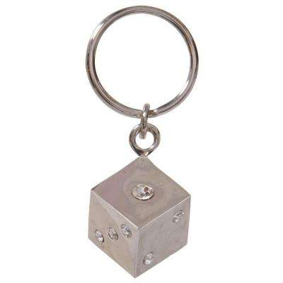 Jeweled Dice Key Chain (3-Pack)