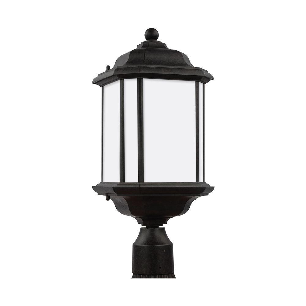 Kent 1-Light Oxford Bronze Post Lantern