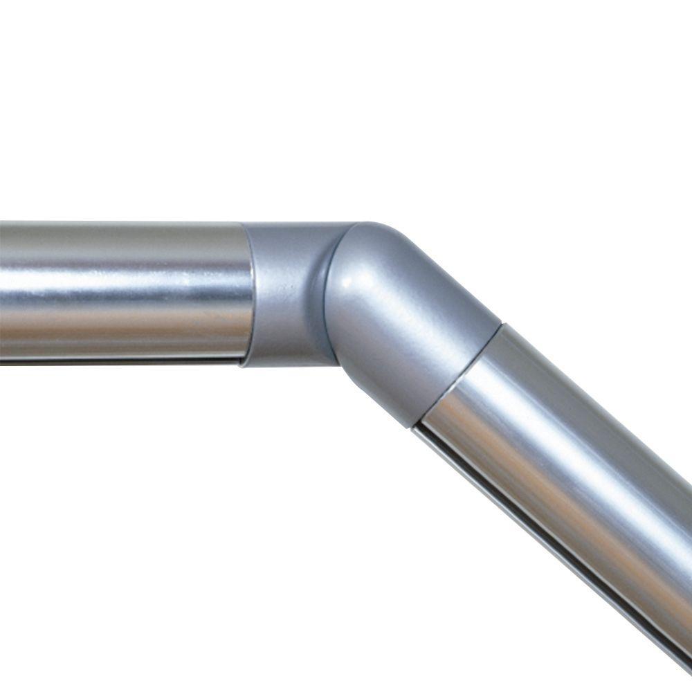 Prova PA6 Powder Coated Steel Handrail Elbow