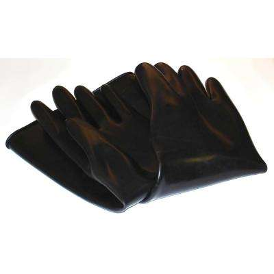 Abrasive 7 in. x 24 in. Blast Gloves