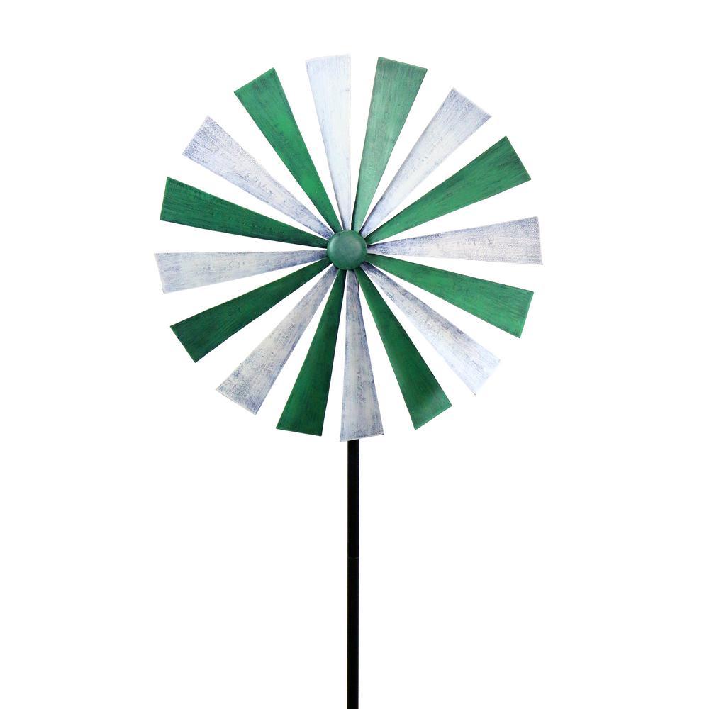 Green-White Disk Spinner