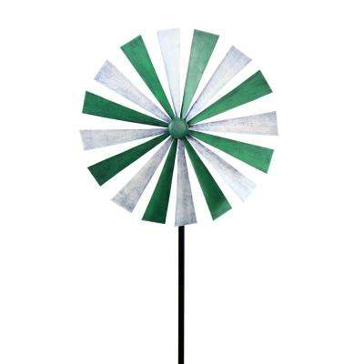 Green-White Disk Spinner