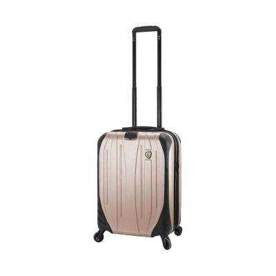 Ferro 20 in. Champagne Carry-On Hardside Spinner Suitcase