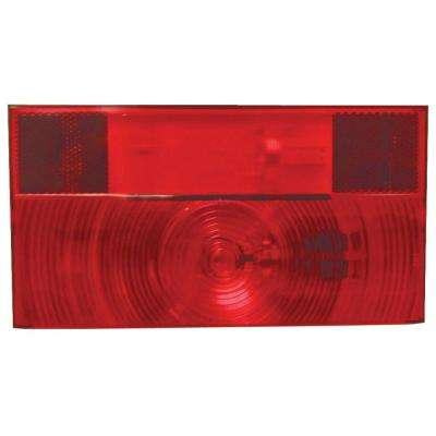 Stop, Turn and Tail Light and License Light with Reflex - Replacement Lens for V25913