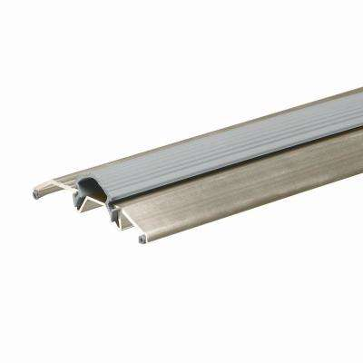 E/O 3-3/4 in. x 36 in. Satin Nickel Threshold