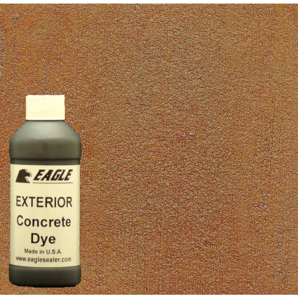 Eagle 1-gal. Canyon Exterior Concrete Dye Stain Makes with Acetone from 8-oz. Concentrate