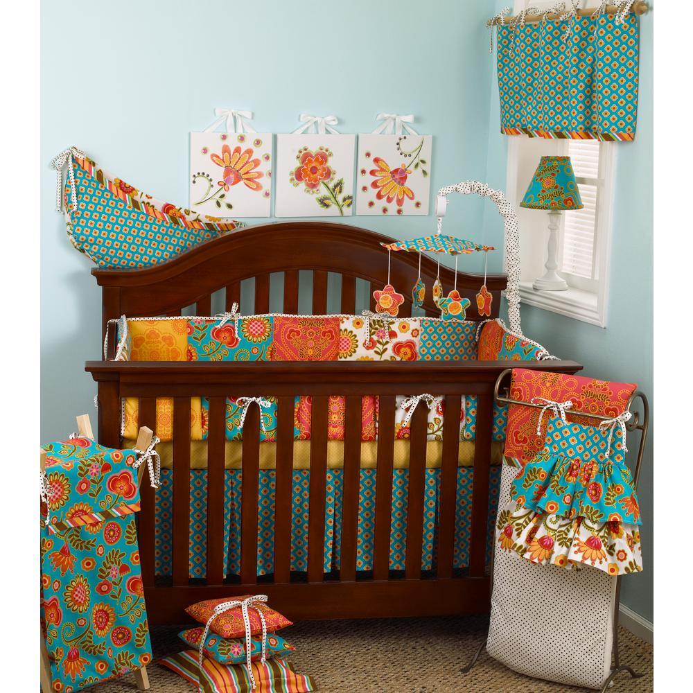 Gypsy 4-Piece Crib Bedding Set