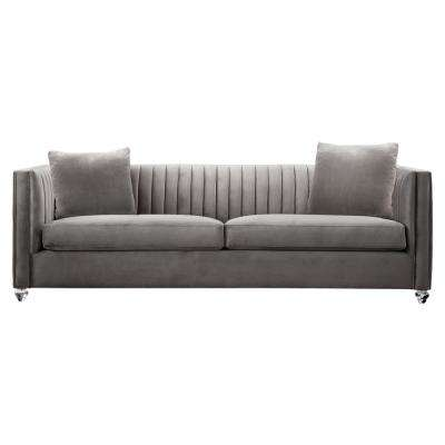 Cameron Beige Fabric Sofa
