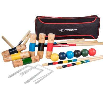 All Pro 6 Player Croquet Set