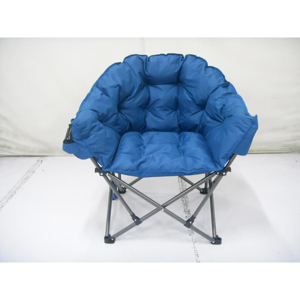 Blue Padded Club Chair Fc 332xl The Home Depot