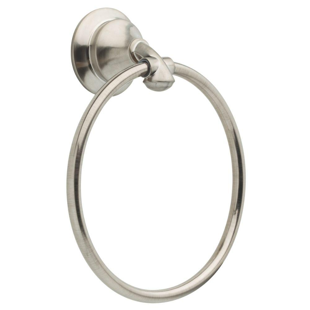 Delta Linden Towel Ring in Stainless