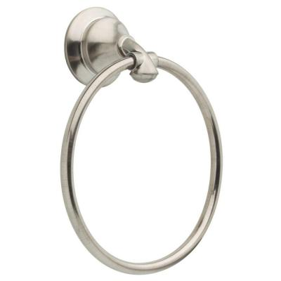 Linden Towel Ring in Stainless