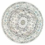 Verona Vintage Persian Gray 8 ft. Round Rug