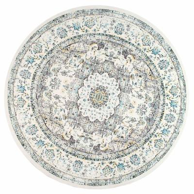 Verona Vintage Persian Gray 5 ft. x 8 ft. Oval Rug