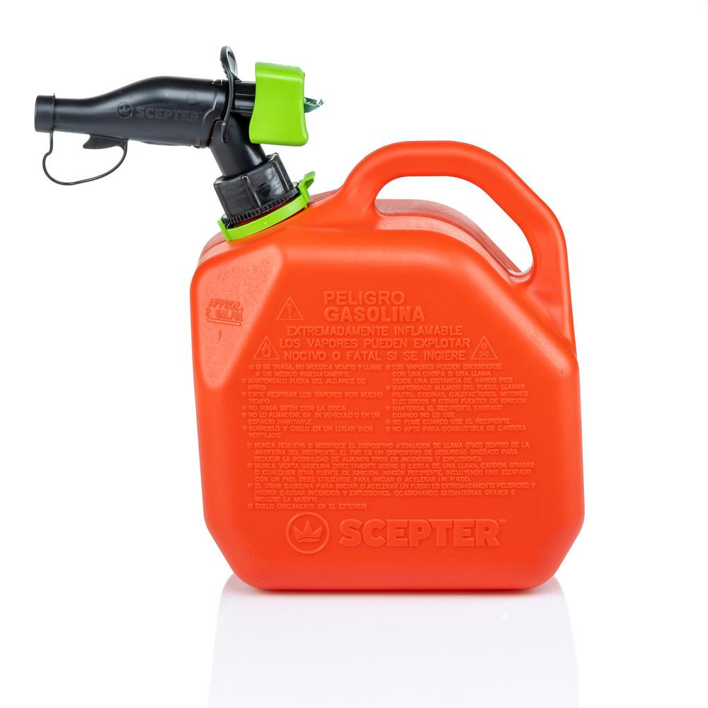 Plastic Gas Cans >> Scepter 5 Gal Smart Control Gas Can