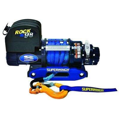 Talon ROCK98 12-Volt DC Off-Road Competition Winch with Hawse Fairlead and Synthetic Rope