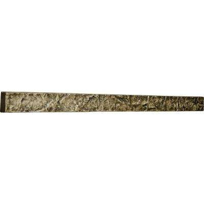 2 in. x 48-1/4 in. x 3 in. Redstone Urethane Universal Trim for Stone and Rock Wall Panels