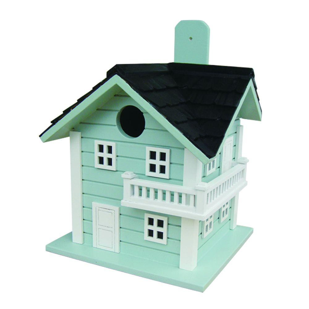 Home Bazaar Surf City Beach House Birdhouse (Blue)