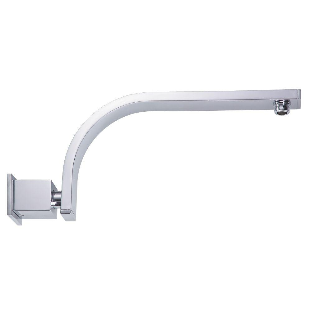 Delta 10-4/5 in. Adjustable Shower Arm in Chrome-UA902-PK - The Home ...