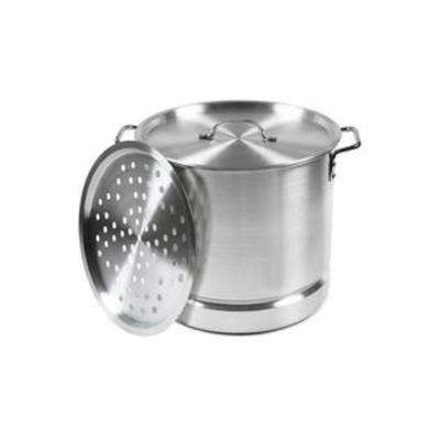 Aluminum 32 Qt. Tamale and Seafood Steamer