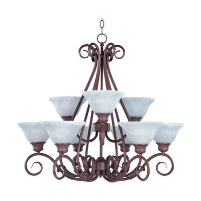 Pacific 9-Light Chandelier