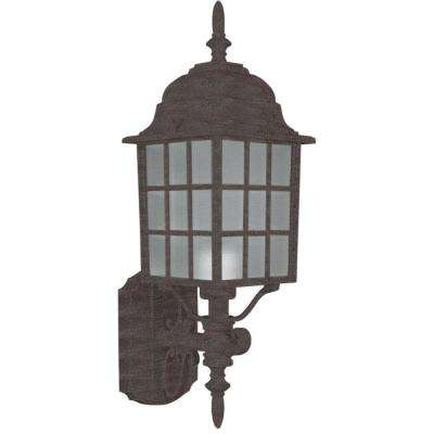 Gabany 1-Light Oil Rubbed Bronze Outdoor Wall Lantern
