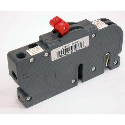 New VPKUBIZ Thin 20 Amp 3/4 in. 2-Pole Zinsco RC3820 Replacement Circuit Breaker