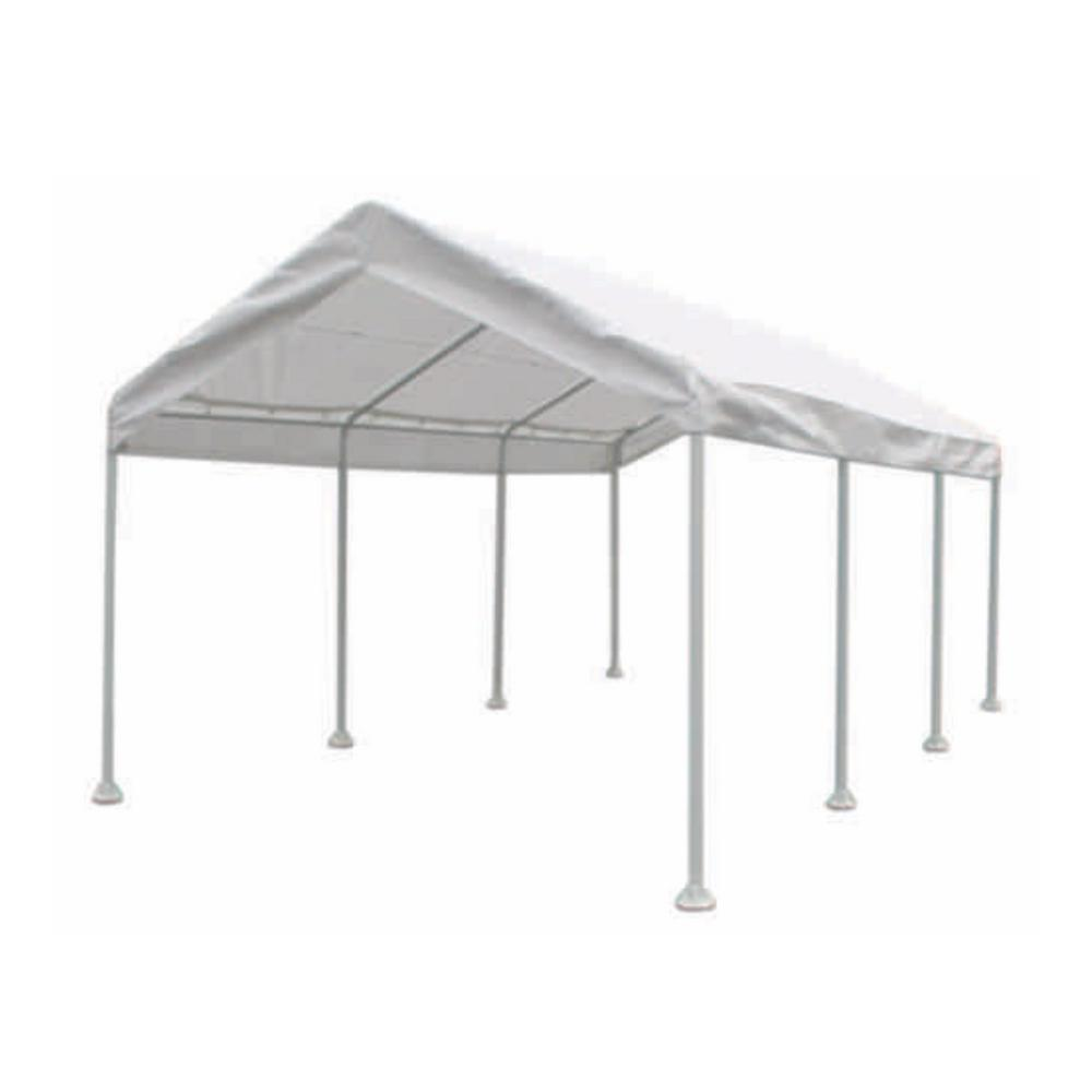 Moto Shade 10 Ft X 20 Ft Multi Purpose Canopy 163627 The Home