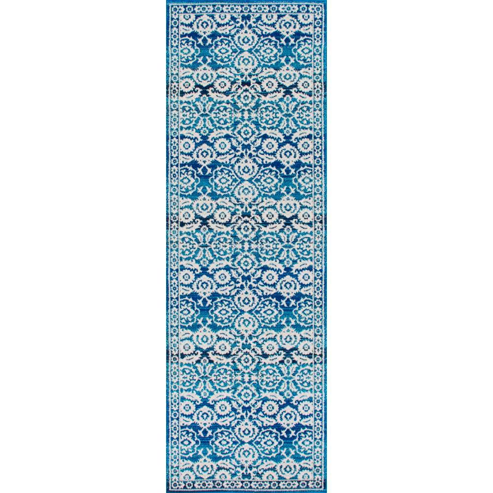 Turnbull Oriental Persian Dark Blue 3 ft. x 8 ft. Runner