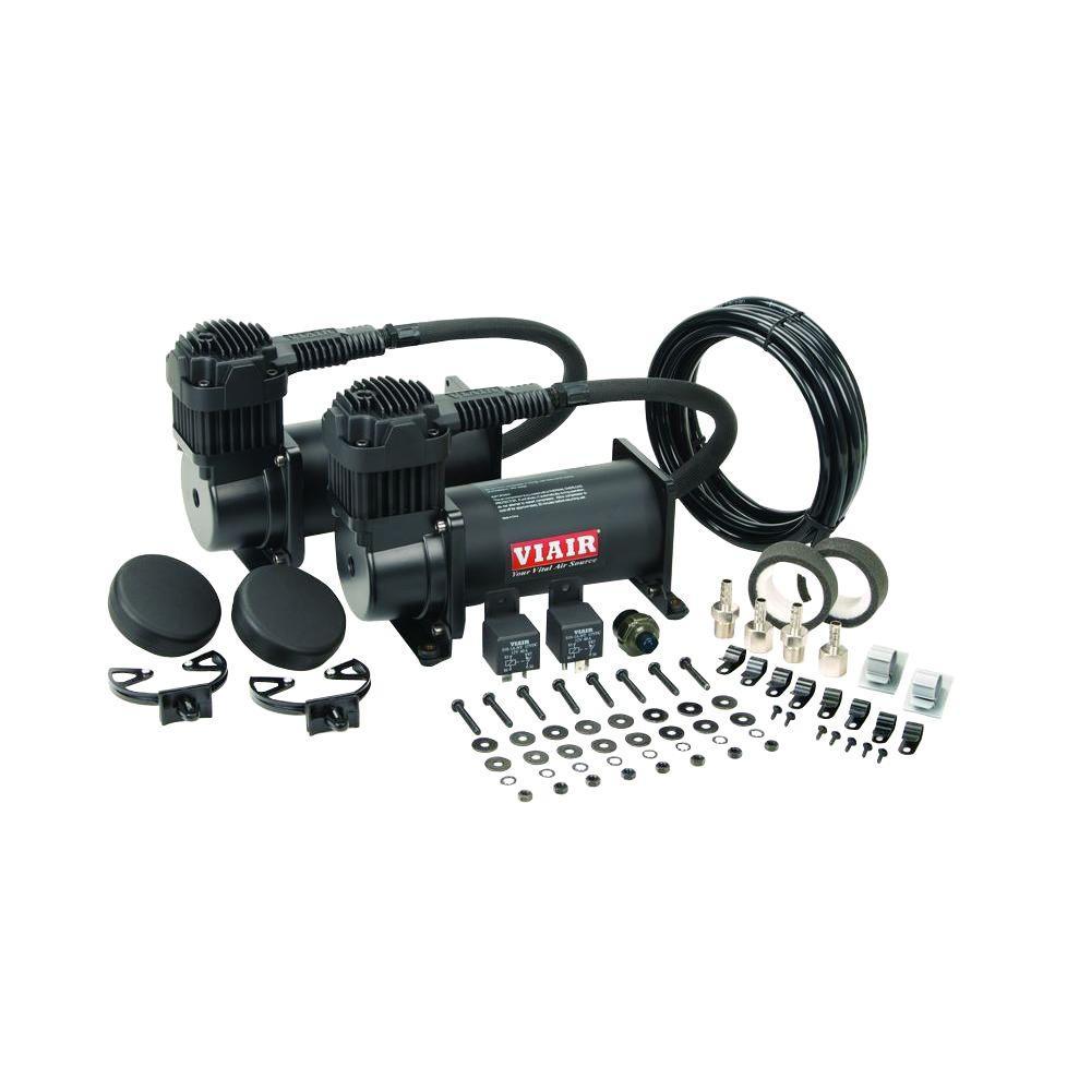 VIAIR - 400C 12-Volt 150 psi Dual Value Pack (Stealth Black)