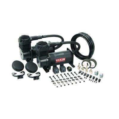 400C 12-Volt 150 psi Dual Value Pack (Stealth Black)