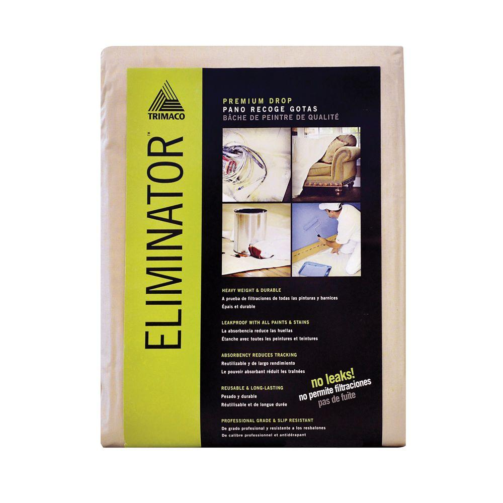ELIMINATOR 4 ft. x 15 ft. Butyl Drop Cloth