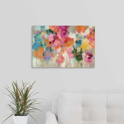 """Colorful Garden I Crop"" by Silvia Vassileva Canvas Wall Art"