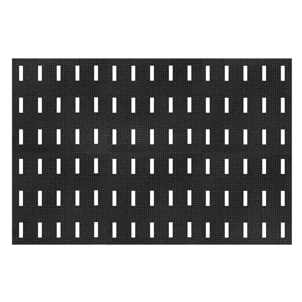 NoTrax Cushion-Dek Black 36 in. x 72 in. PVC 7/16