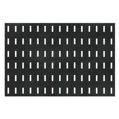 Cushion-Dek Black 36 in. x 72 in. PVC 7/16 in.Thick Anti-Fatigue and Safety Mat