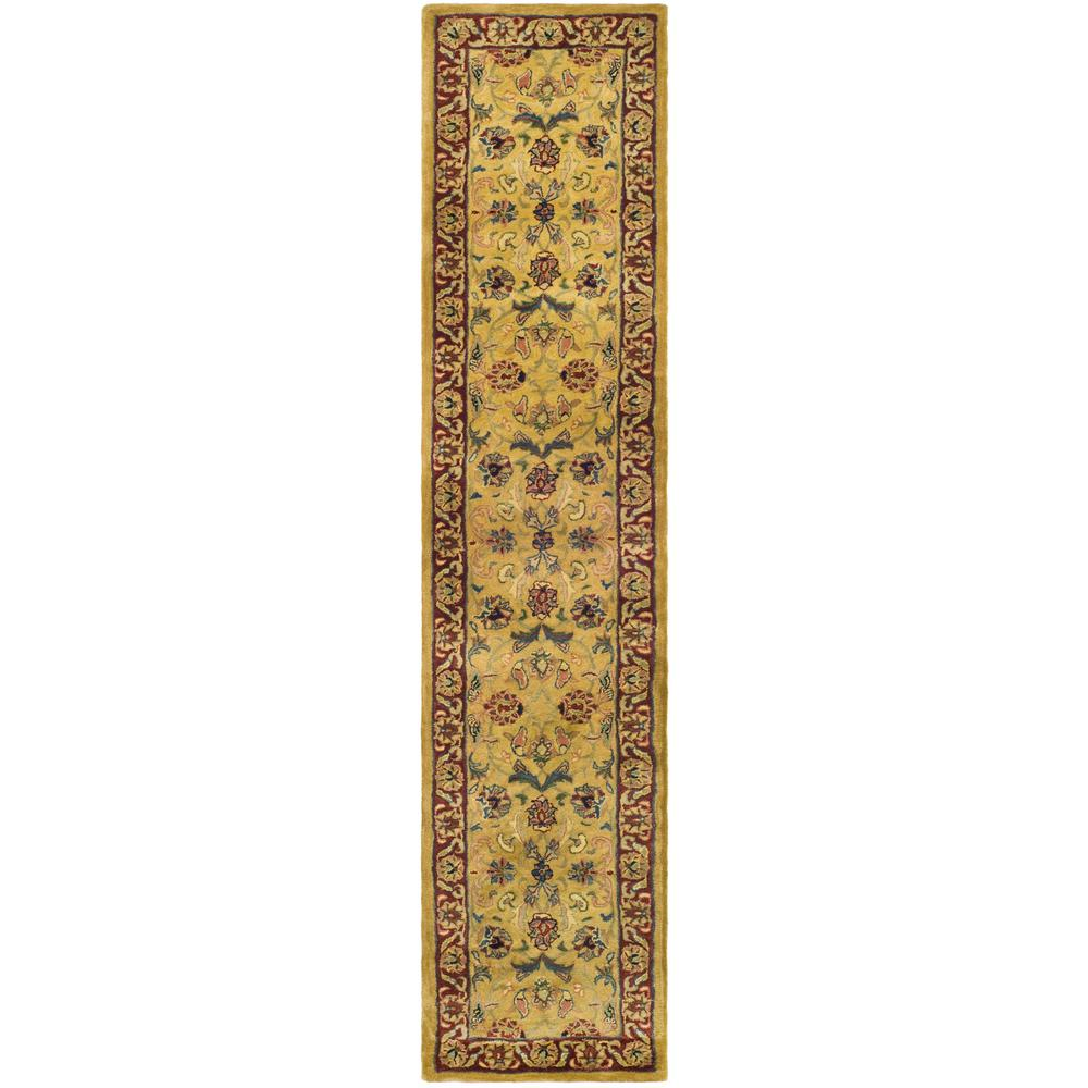 Classic Gold/Red 2 ft. 3 in. x 14 ft. Runner