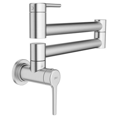 Studio S Wall Mount Pot Filler with Swing Arm in Stainless Steel