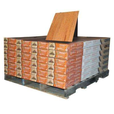 American Cherry Natural 3/8 in. Thick x 4-1/4 in. Wide x Random Length Engineered Click Wood Floor (480 sq. ft. /pallet)