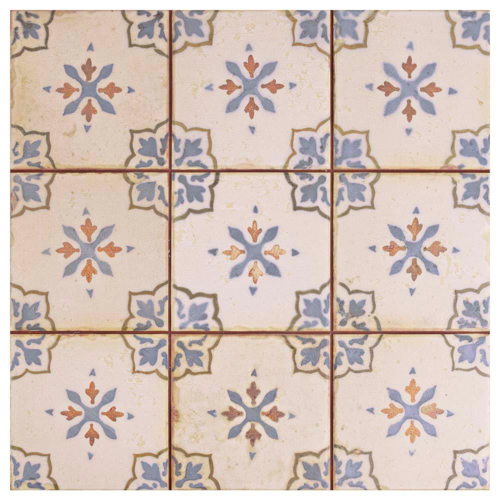 Merola tile oldker 13 in x 13 in ceramic floor and wall tile 122 ceramic floor and wall dailygadgetfo Gallery