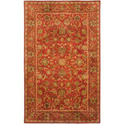 Antiquity Red 4 ft. x 6 ft. Area Rug