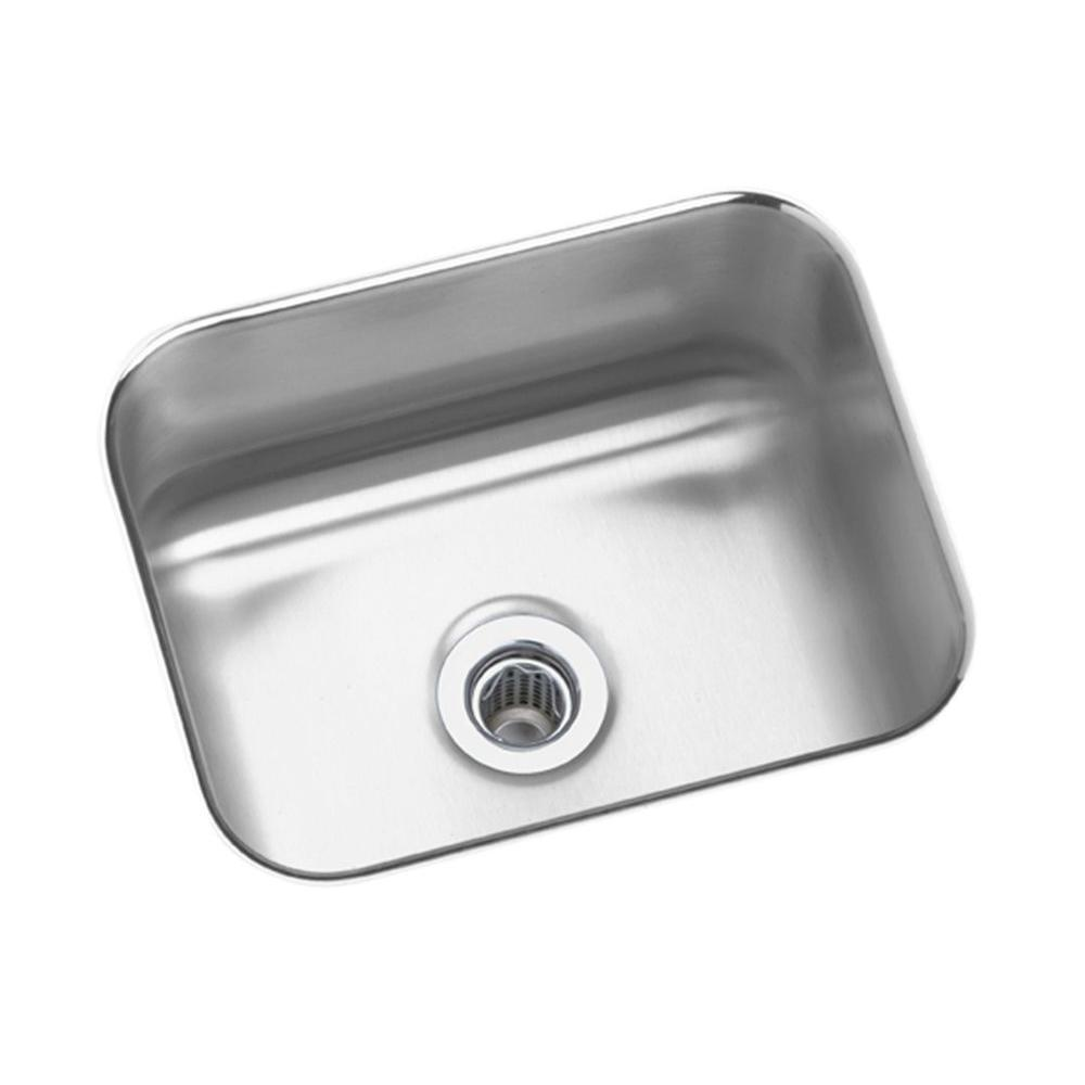 Elkay Lustertone Undermount Stainless Steel 15 in. Bar Sink