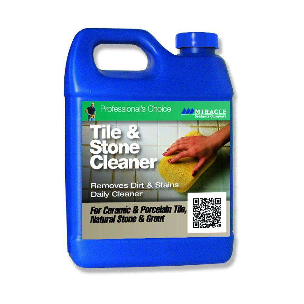 Miracle sealants 32 oz tile and stone cleaner tsc qt h the tile and stone cleaner dailygadgetfo Gallery