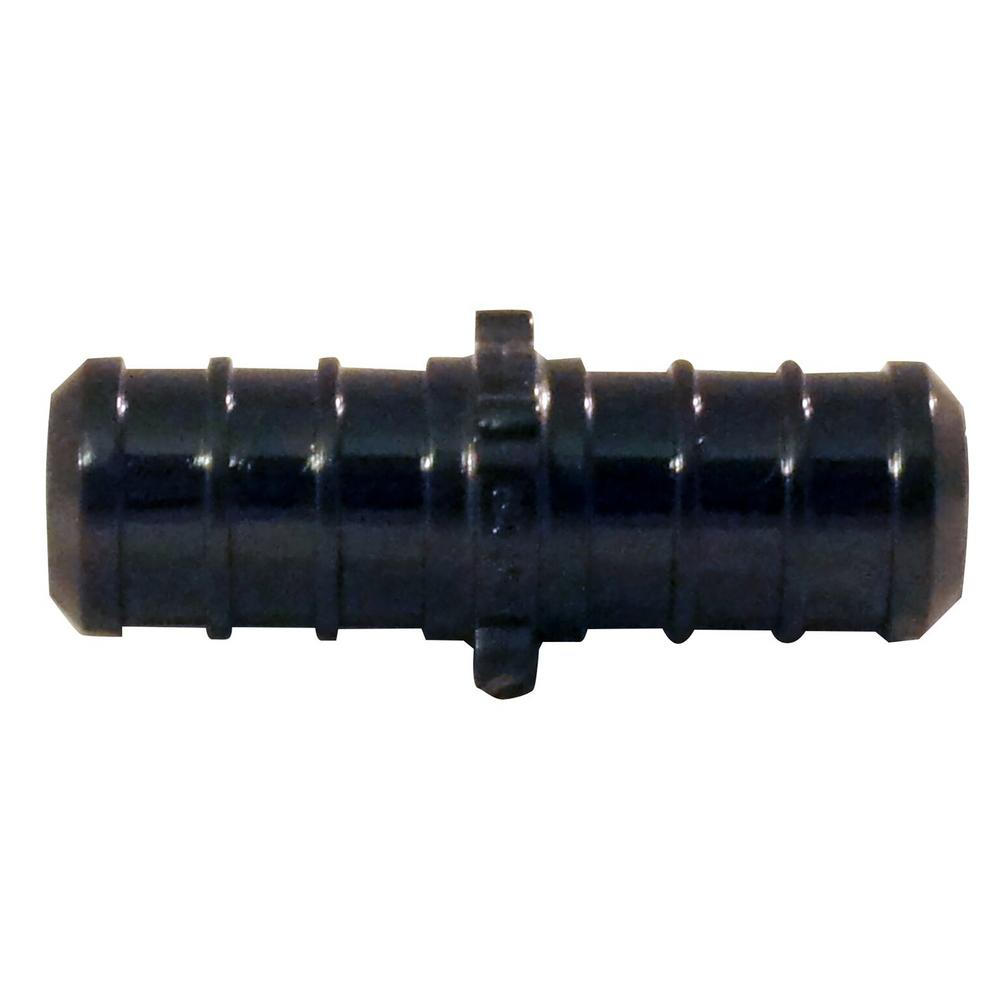 1/2 in. x 1/2 in. Poly Alloy Straight Coupling (50-Pack)