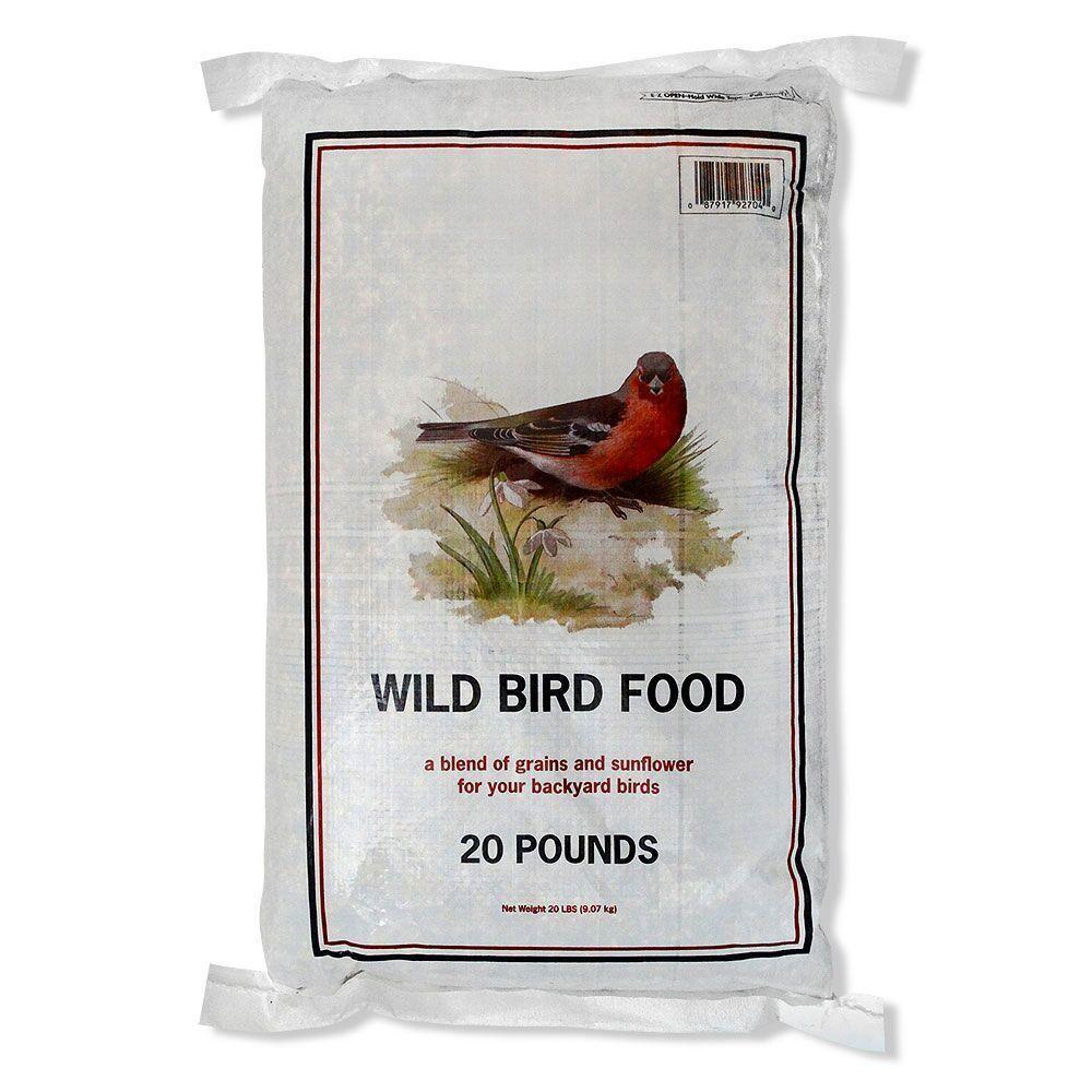 20 lb economy wild bird food 12175 the home depot