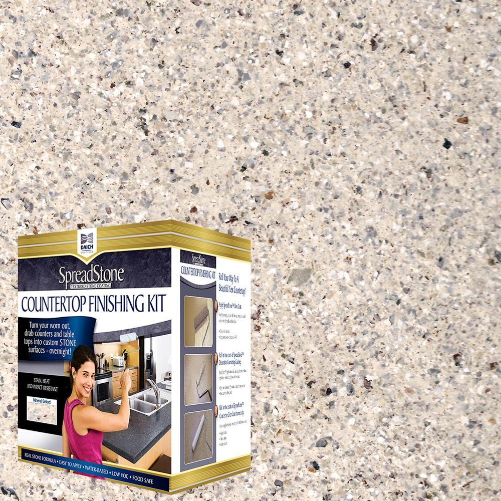 DAICH SpreadStone Mineral Select 1 qt. Oyster Countertop Refinishing Kit