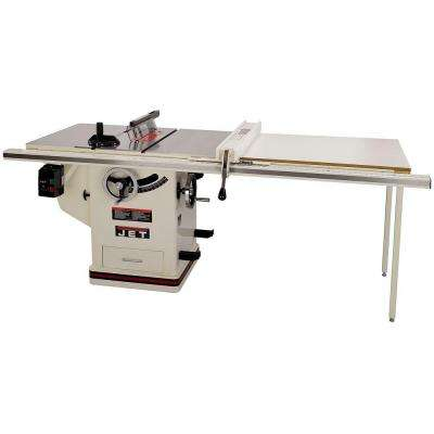 3 HP 10 in. Deluxe XACTA SAW Table Saw with 50 in. Fence, Cast Iron Wings and Riving Knife, 230-Volt