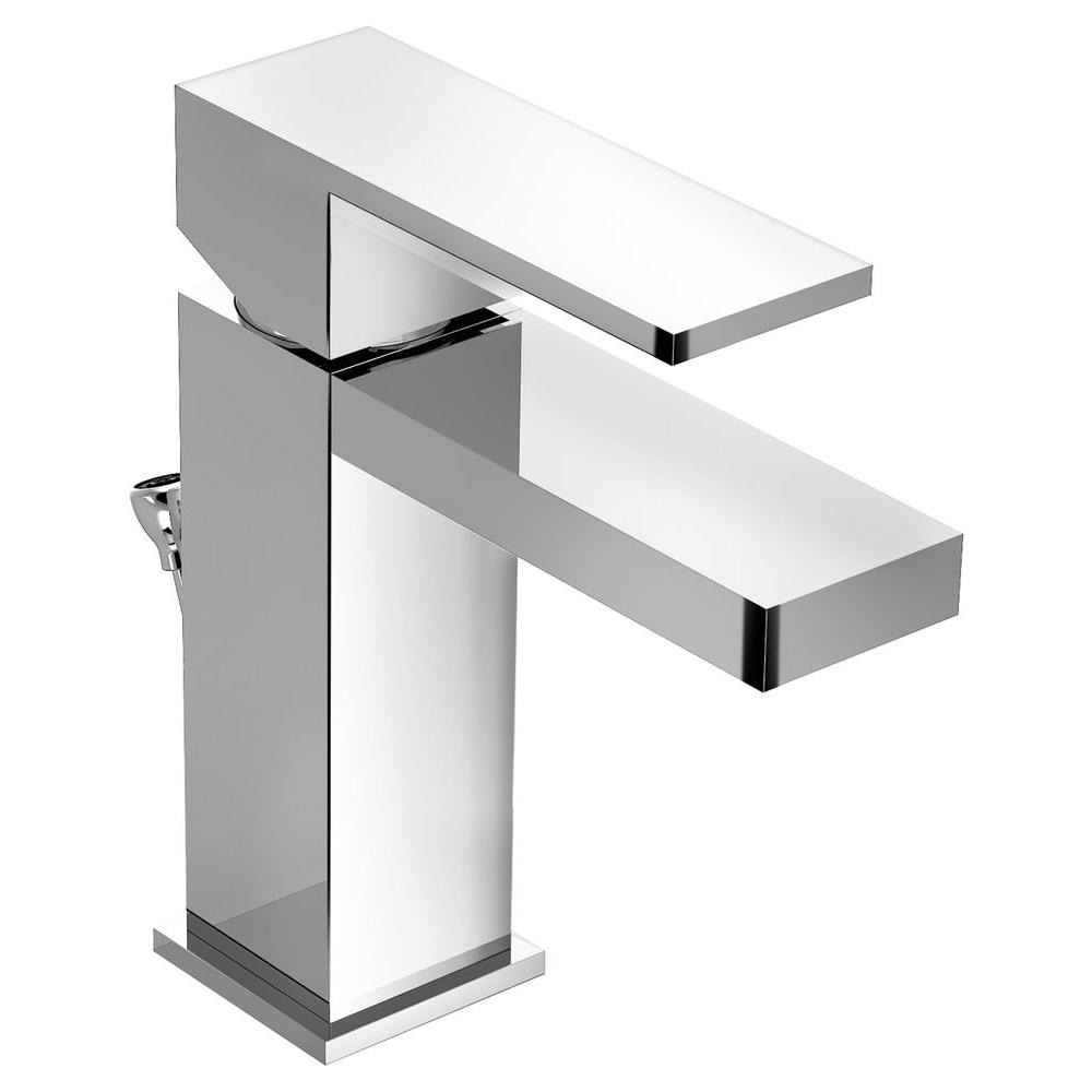 Symmons Duro Single Hole 1-Handle Bathroom Faucet in Chrome-SLS-3612 ...
