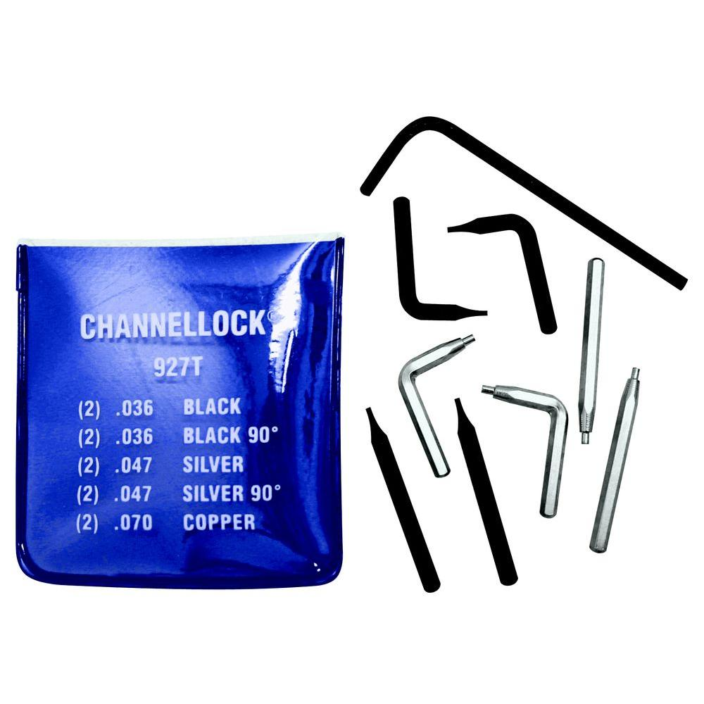 Channellock Replacement Tip Kit for 927, 5 Tips