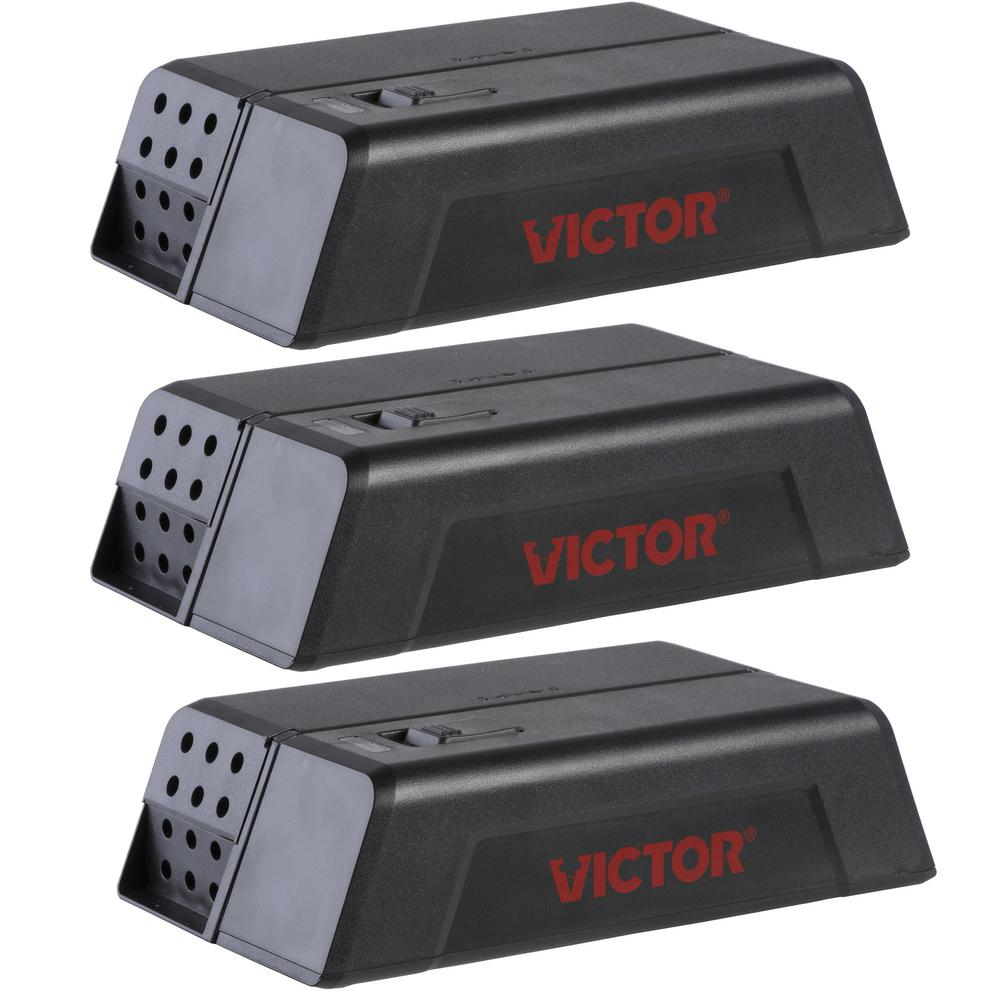 Victor Electronic Mouse Trap (3-Pack)-M250SSR-3