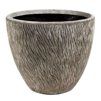 Thatch 22 in. Natural LavaStone Planter